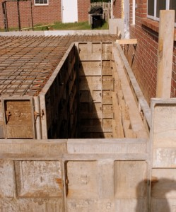 Stairwell and Formwork