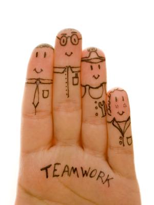 Finger Teamwork