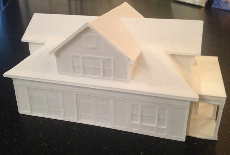 3d Printed Home Model